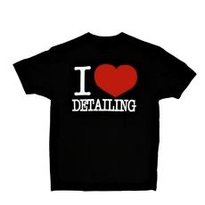 Chemical Guys t-paita I Love Detailing etupuoli