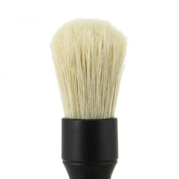 Detail Factory Black Boars Hair Brush, Small