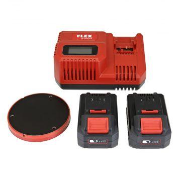 Flex XFE 15 150 akut ja laturi