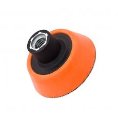 Flexipads M14 Ultra Soft -talla, 70 mm (musta/oranssi)