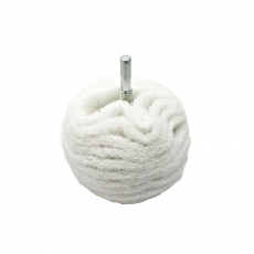 Flexipads White Non-Scratch Scruff Ball