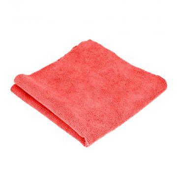 PT punainen mikrokuituliina lyhyempi nukka