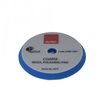 Rupes Blue Coarse Wool Pad, 150 mm tausta