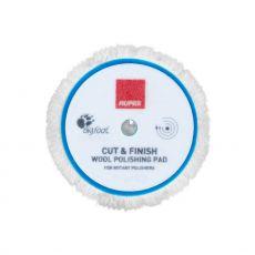 Rupes Cut & Finish Rotary Wool Pad, 150 mm