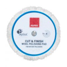 Rupes Cut & Finish Rotary Wool Pad, 180 mm