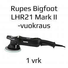 Vuokralaite: Kiillotuskone Rupes Bigfoot LHR 21 Mark II