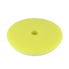 Shine Mate Yellow DA High Cutting Foam Pad, 150 mm