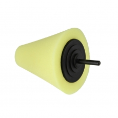 Shine Mate Yellow Polishing Cone