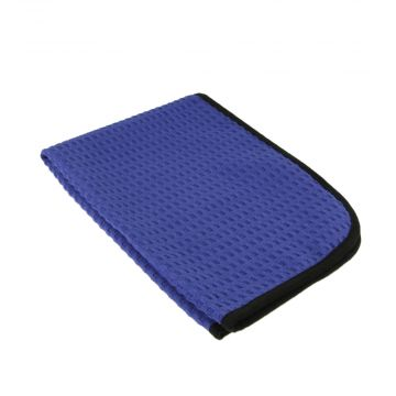 The Rag Company Dry Me a River Navy Blue Waffle Weave Towel, 40 cm x 60 cm