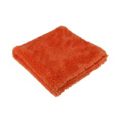 The Rag Company Eagle Edgeless 500 Orange Ultra Plush Microfiber Towel, 40 cm x 40 cm