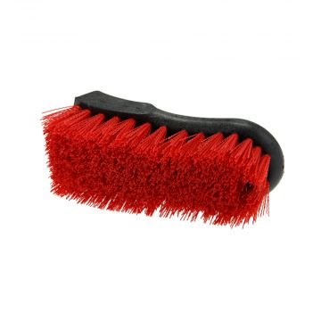 Carpet and Upholstery Brush Red Nylon