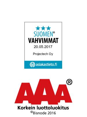 Suomen Vahvimmat - Projectech Oy